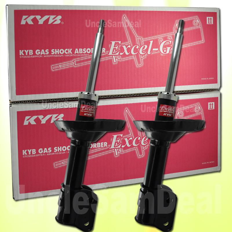 FRONT SET (2) KYB EXCEL-G GR-2 REPLACEMENT SHOCKS STRUTS